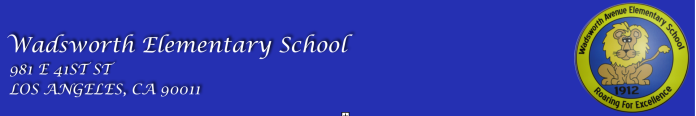 Wadsworth Elementary  Logo